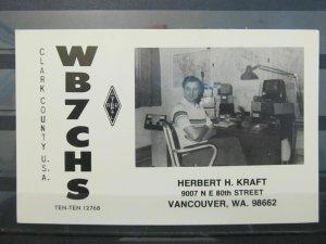 4146 QSL Card Vancouver Canada 1980