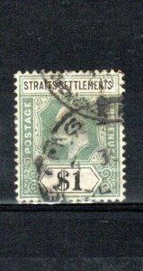 Malaysia - Straits Settlements 1902 $1 GU CDS