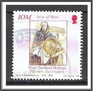 Isle of Man #1050e Manx History Used