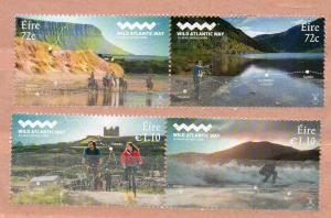 IRELAND - EIRE - WILD ATLANTIC WAY - CYCLING - FISHING - HORSES - SURFING - 2017
