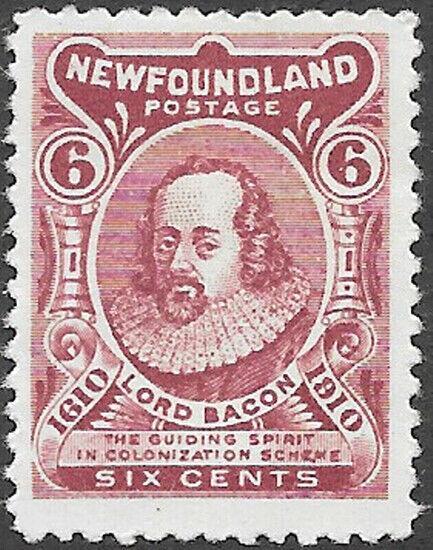Newfoundland Scott Number 92 FVF H