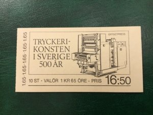 ICOLLECTZONE Sweden 1452a Booklet VF NH