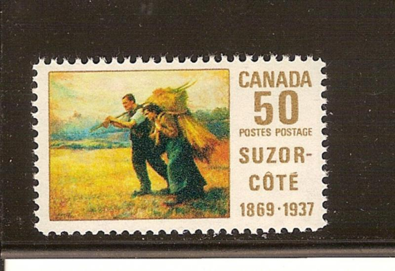 CANADIA #492 SUZOR-COTE MNH STAMPS  LOT#525