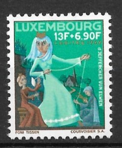Luxembourg 1966 The Little Sisters of Trois-Vièrges MNH**