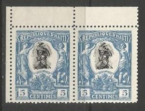 HAITI 84 MNH PAIR FORGERY P290
