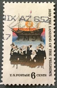 US #1420 Used Single The Pilgrims SCV $.25