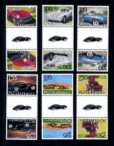 [95179] Netherlands Antilles 2006 Classic Cars Delago Gutter Pairs MNH
