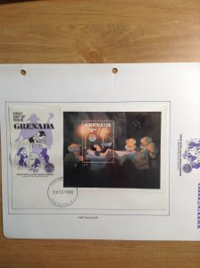 Grenada  #  1030  First day cover
