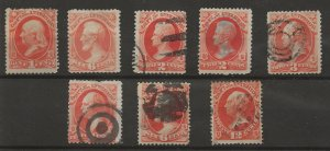 U.S Dept of Interiors Official Stamp Collection Unchecked some Mint MH