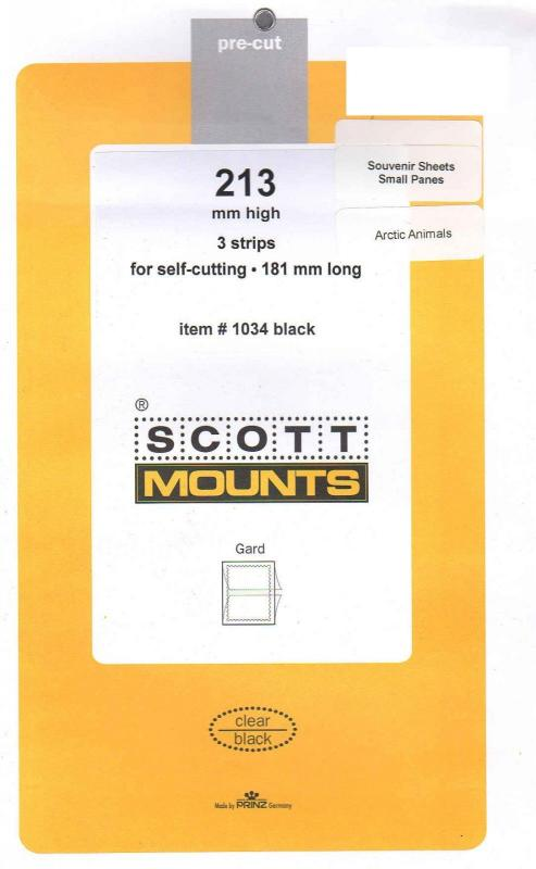 213 High X 181 Long Scott Black Mounts Small Panes Such As Arctic Animals, etc.