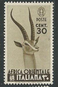 Italian East Africa ||  Scott # 8 - MH