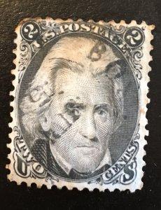 73 Jackson, Black, no grill, Vic's Stamp Stash