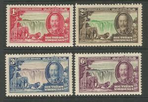 Southern Rhodesia 1935 KGV Silver Jubilee Set Of Stamps unmounted mint
