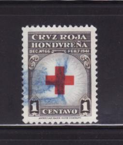 Honduras RA4 Set U Red Cross (E)