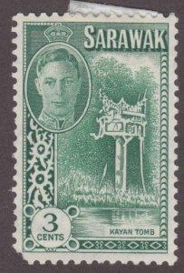 Sarawak 182 Kayan Tomb 1950