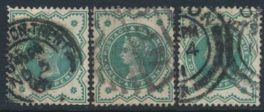 Great Britain SG 213 SC# 126  Used group of 3 see scans & details