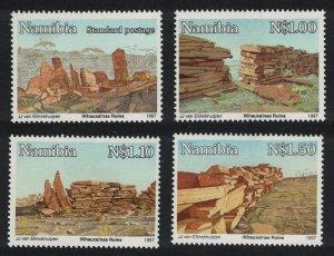 Namibia Khauxanas Ruins 4v 1997 MNH SG#701-704
