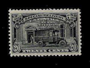 US 1925 Sc# E 14- 20 c Special Delivery Mint NH  - Vivid  Color - GEM