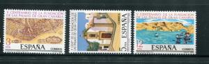 Spain #2105-7 MNH