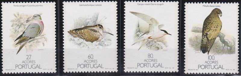 Azores 371-374 MNH (1988)