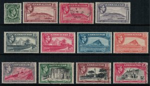 Gibraltar #107-16*/u  CV $33.25