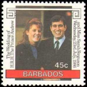 1986 Barbados #687-688, Complete Set(2), Never Hinged