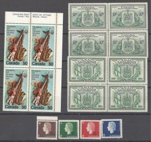 COLLECTION LOT OF # 1930 CANADA 16 STAMPS  MNH/ UNUSED NO GUM 1942+ CV+$44