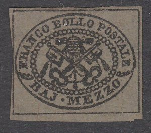 ITALY PAPAL STATES  An old forgery of a classic stamp.......................C203