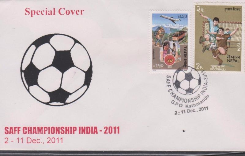 O) 2011 INDIA, SAFF CHAMPIONSHIP INDIA-FOOTBALL, METHOD OF TRANSPORTING MAIL,  K
