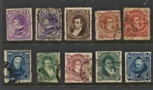 STAMP STATION PERTH Argentina #10 Early Stamps Used - Unchecked