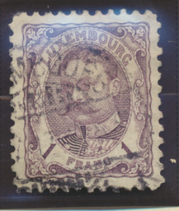 Luxembourg Stamps Scott #149-50 Imperf Pairs Mint Hinged 1922 Philatelic Exhi...