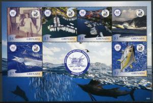 Grenada 2019 MNH Spice Island Billfish Tournament 6v M/S Fishing Boats Stamps