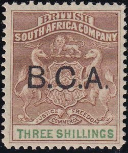 British Central Africa 1891-1895 SC 10 MLH