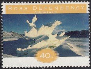 Ross Dependency 1998 MNH Sc L49 40c Sculptured sea ice