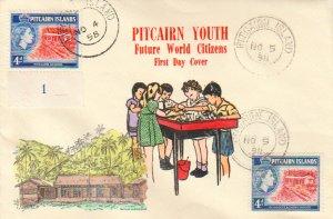 Pitcairn Island Scott 25 Unaddressed.