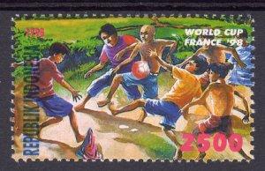 Indonesia 1998 Mi#1794 WORLD CUP FOOTBALL FRANCE '98 Single (1) MNH