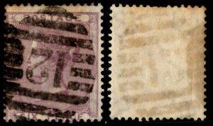 Great Britain - Scott #27 - Numeric Cancel - CV $100 - 2 Short Perfs
