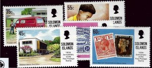 Solomon Islands SC#673-677 MNH VF...Worth a Bid!