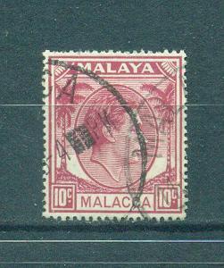 Malaya - Malacca sc# 9 used cat value $.25