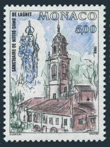 Monaco 1632,MNH.Michel 1868. Notre-Dame de Laghet,restoration-5,1988.