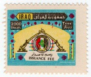 (I.B) Iraq Revenue : Passport Fee 2000D (Issuance)