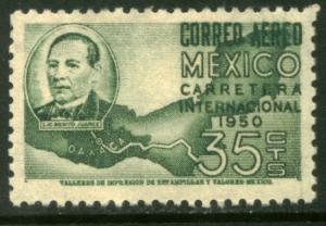 MEXICO C200, 35¢ Completion of Panamerican Hwy. MINT, NH. F-VF..
