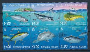 [35266] Pitcairn Islands 2007 Marine Life Fish Tuna MNH