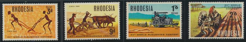 Rhodesia   SG 422 - 425  SC# 258 - 261  MNH Ploughing Congress see details