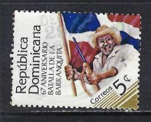 DOMINICAN REPUBLIC 901 VFU FLAG V021-12