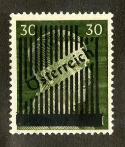 AFARS & ISSAS 337 MNH SCV $2.75 BIN $1.50 GERMAN OVERPRINTED