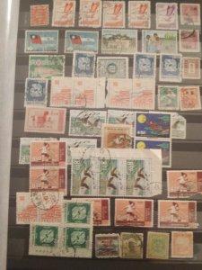 China/Taiwan/Hong Kong stamp lot