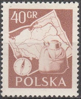 Poland #730 MNH  (K1043)