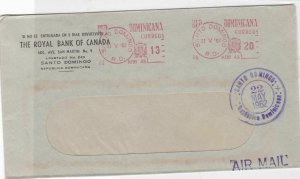dominica 1962 stamp cover  Ref 10078
