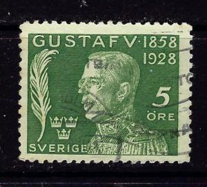 Sweden B32 Used 1928 Issue
